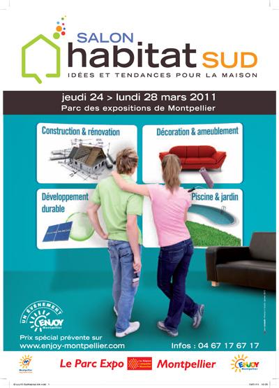 Le salon habitat sud montpellier for Salon eco habitat