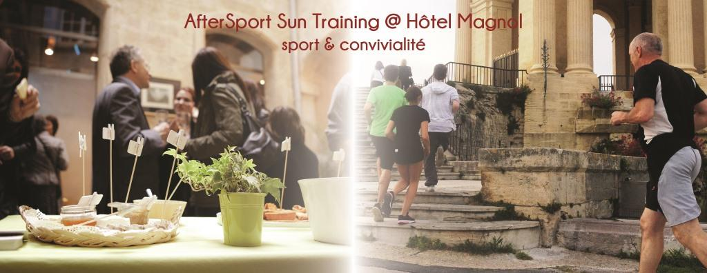 sport, hotel particulier, hotel Magnol, apéritif
