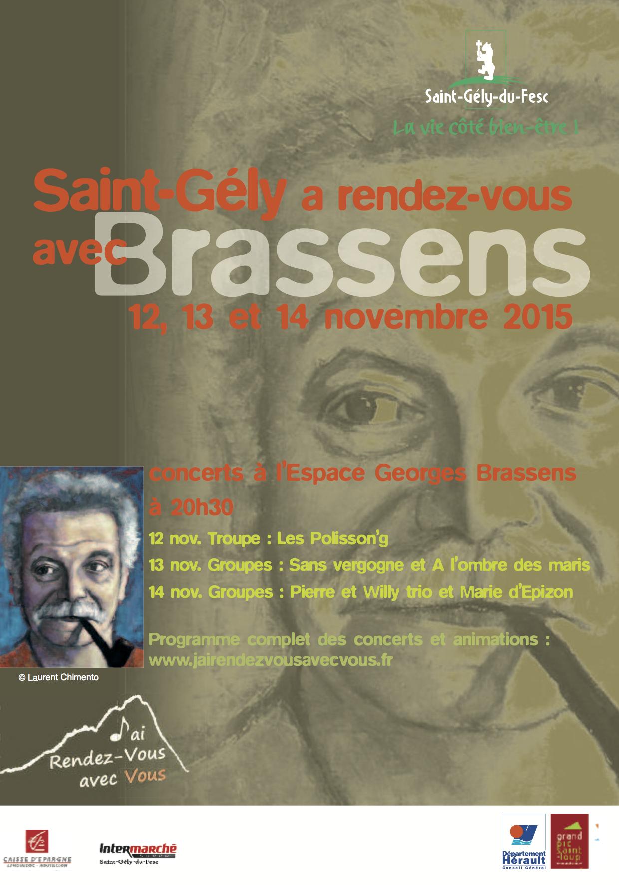 Saint-Gély a rendez-vous avec Brassens 2015