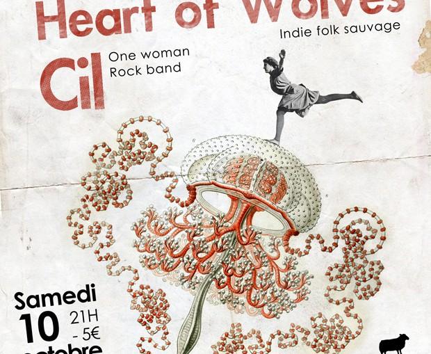 concert black sheep montpellier she owl + heart of wolves