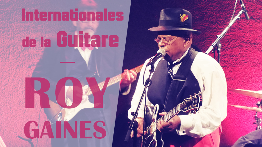 Roy GAINES au JAM pour les Internationales de la Guitare