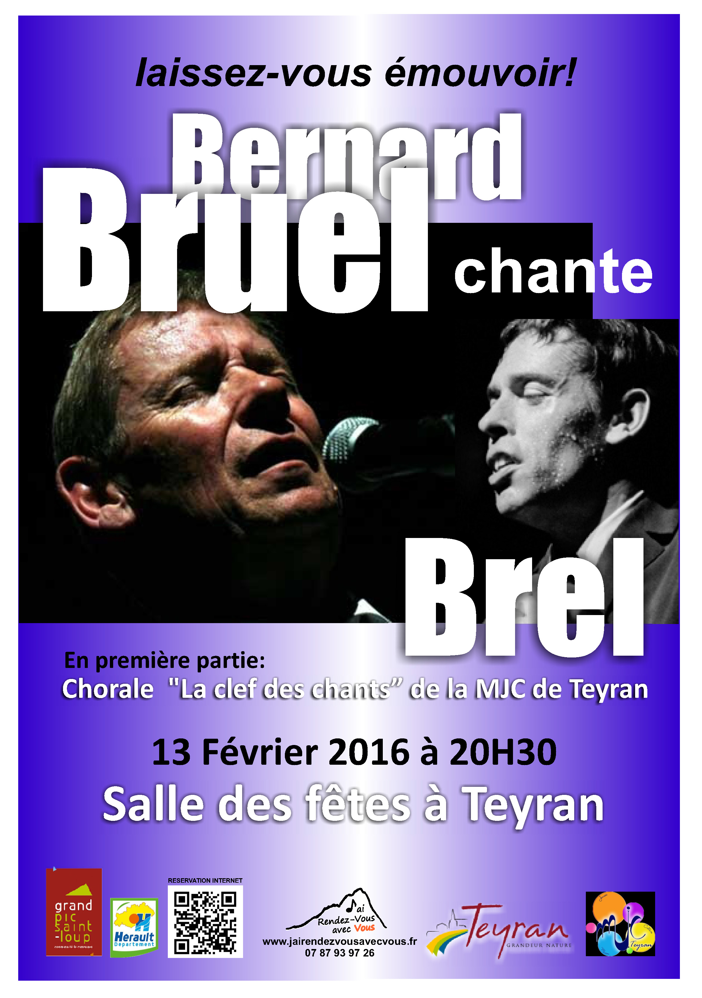 Bernard Bruel chante Brel