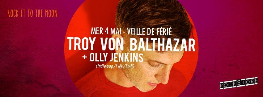 Troy von Balthazar en concert gratuit à montpellier