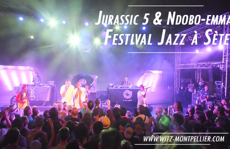 jurassic 5 au festival jazz à sète