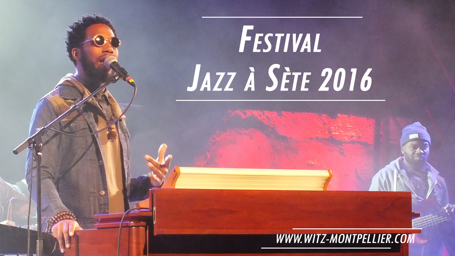 Festival Jazz à Sète 2016 : Cory Henry et Christian Scott