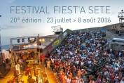 présentation et programmation du festival fiest'a Sète